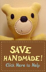 Save Handmade Banner
